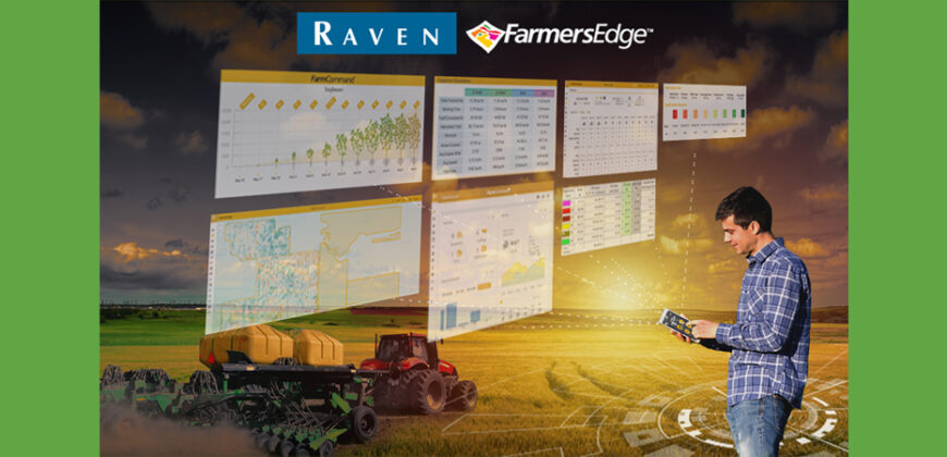 Raven Industries and Farmers Edge Establish… - Raven Industries