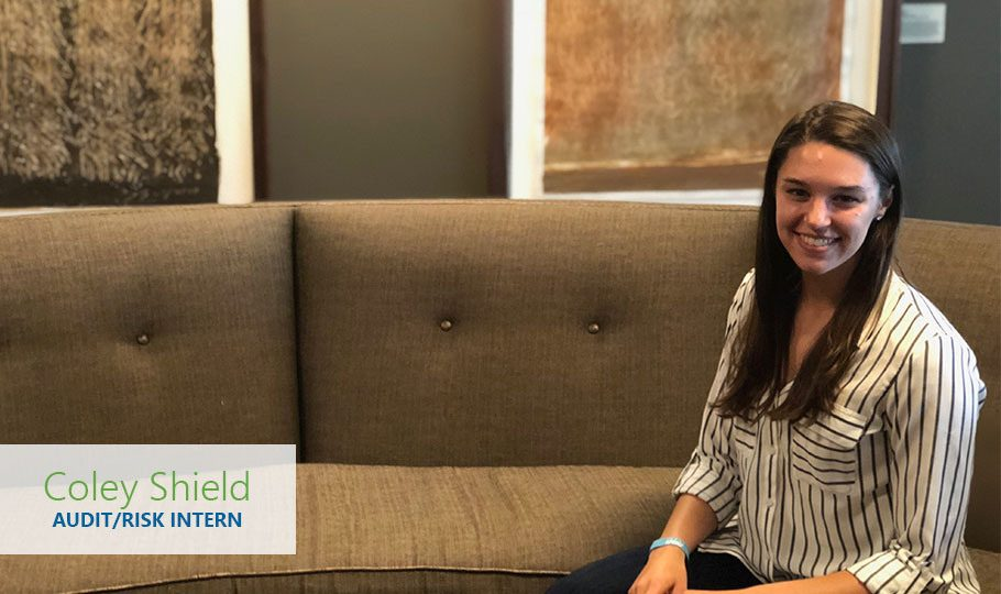 Coley Shield is an Audit/Risk Intern for Raven Corporate Services this summer.