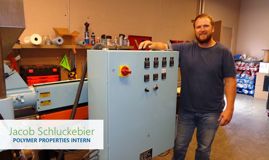 Jacob Schluckebier is a Polymer Properties Intern for Raven Engineered Films.