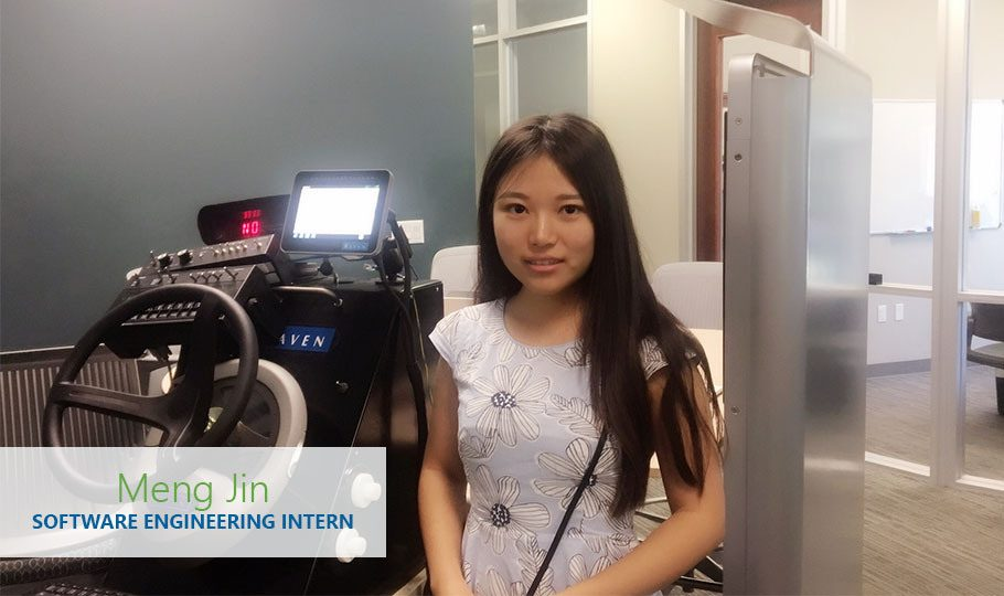 Meng Jin is a Software Engineer Intern for Raven Applied Technology.