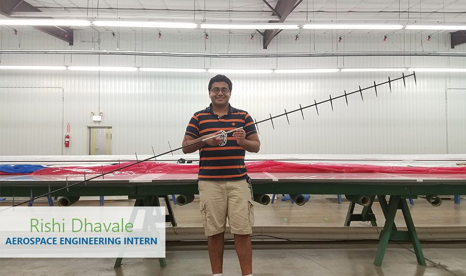 Rishi Dhavale is an Aerospace Engineering Intern for Raven Aerostar.