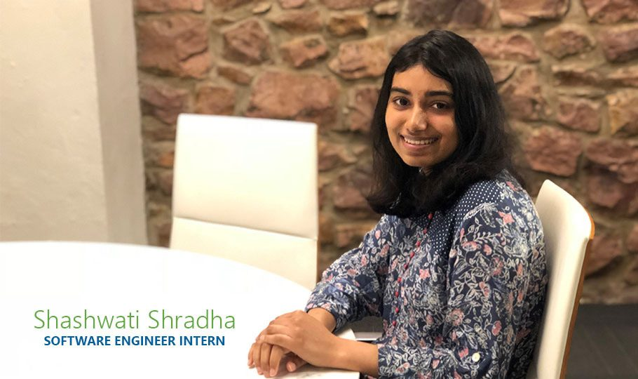 Shashwati Shradha, a Software Engineer Intern for Raven Applied Technology