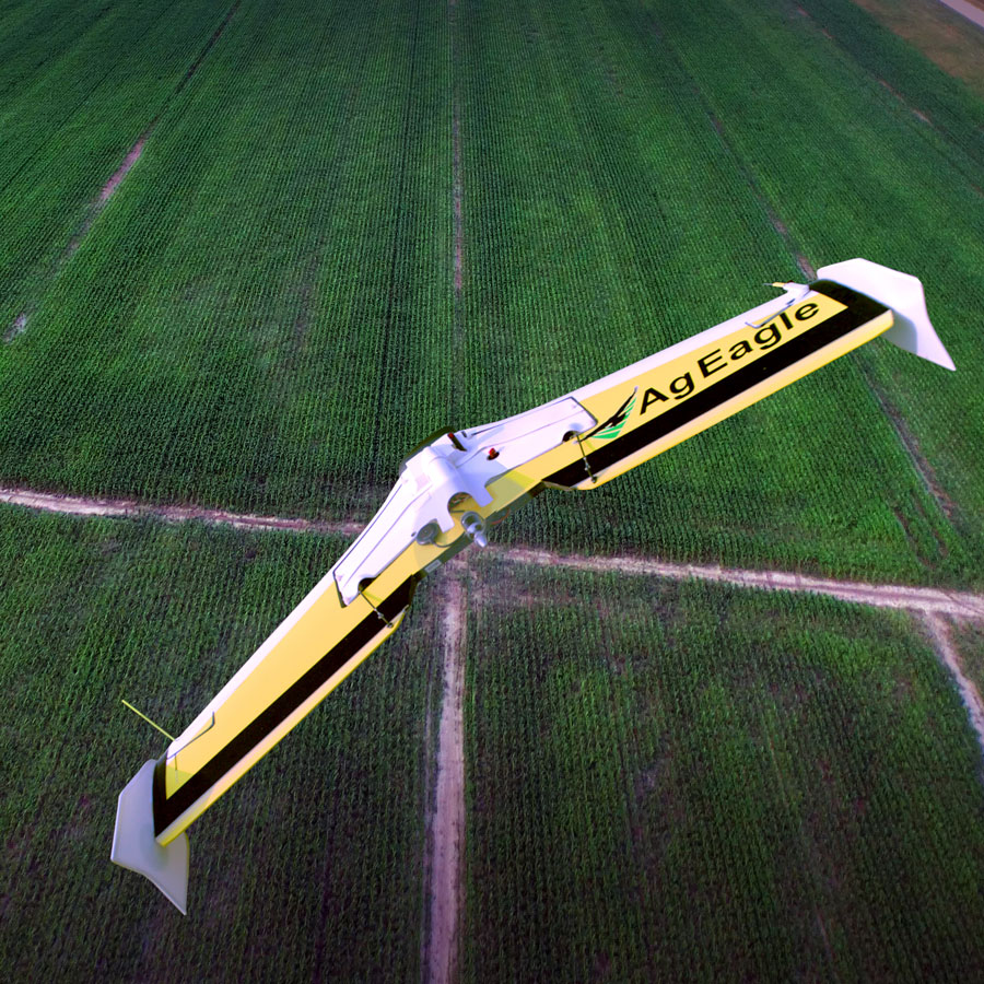 Raven and AgEagle Partner on UAS Solutions for Agriculture