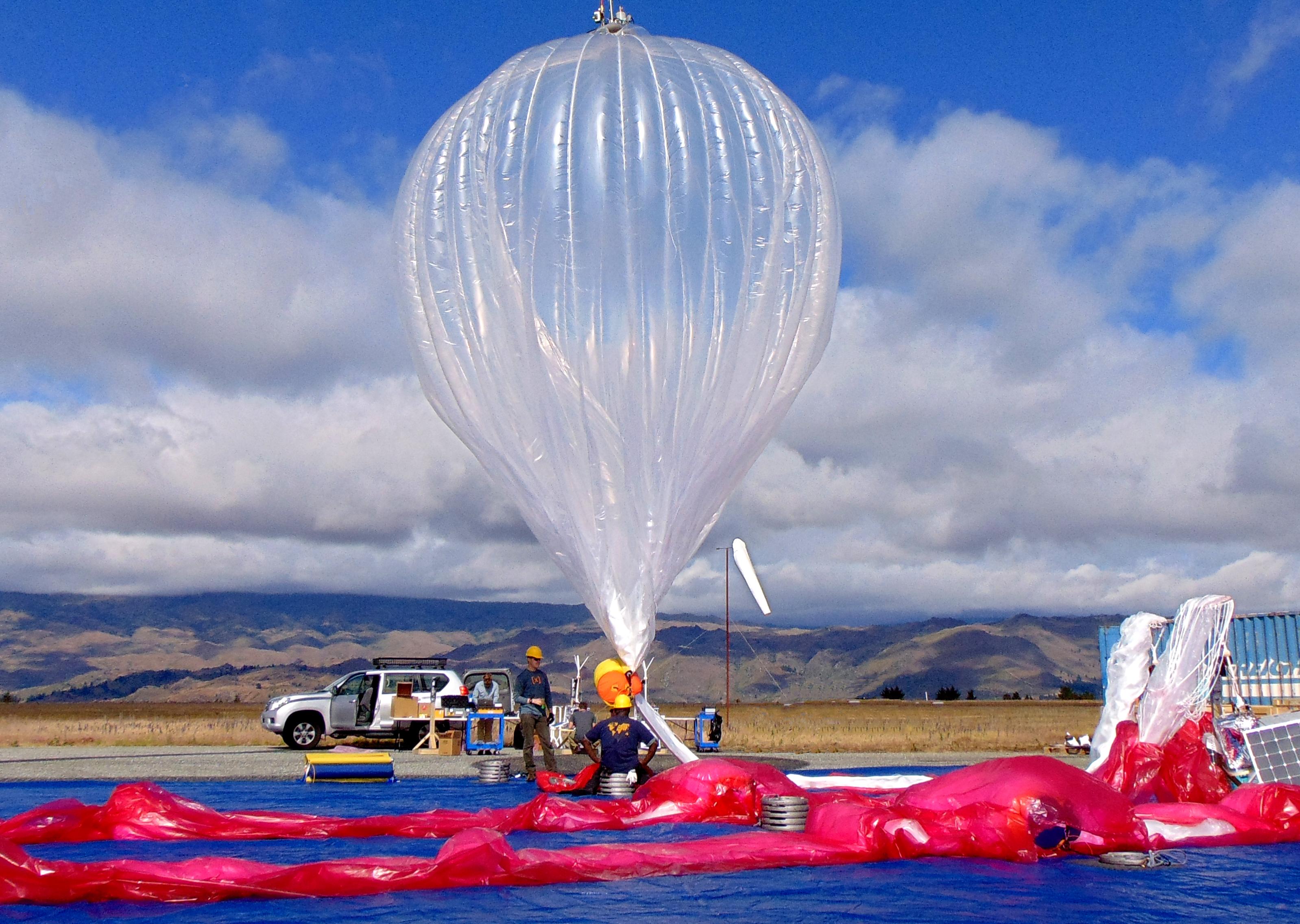 Raven Aerostar Collaborates with Google on Balloon-powered Internet Access