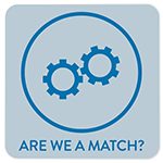 Are We A Match? Button